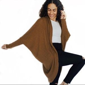 Carly Jean Los Angeles Kacey Long Cocoon Cardigan